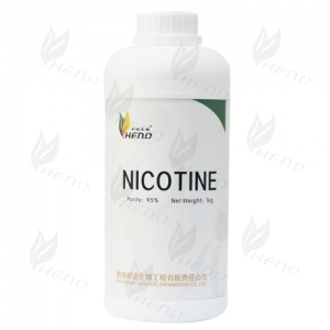 Professional HENO BIOLOGIC tobacco extraction producer 95% high purity nicotine 1kg Manufacturers